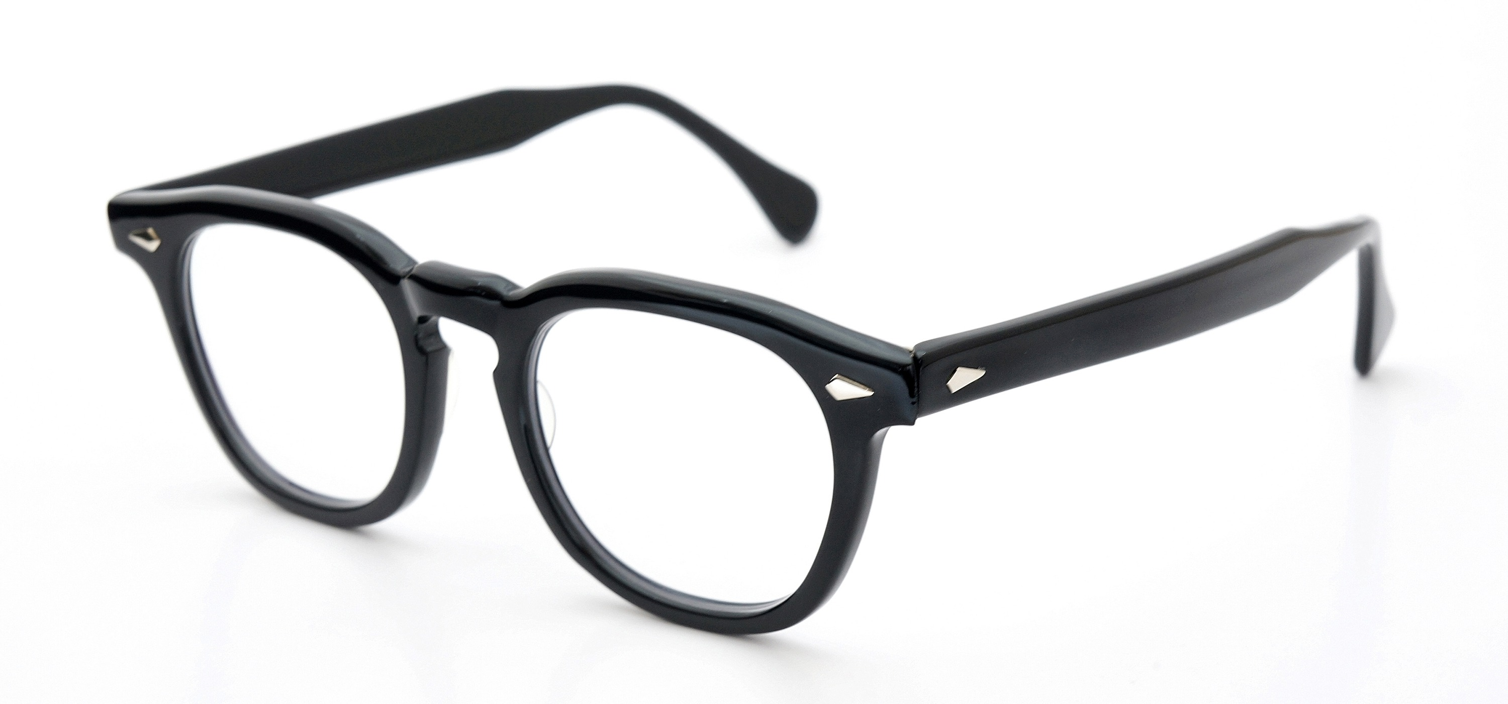 The Spectacle メガネ 1950s-70s TART OPTICAL ARNEL(FRAME USA) BLACK 48-22 イメージ3