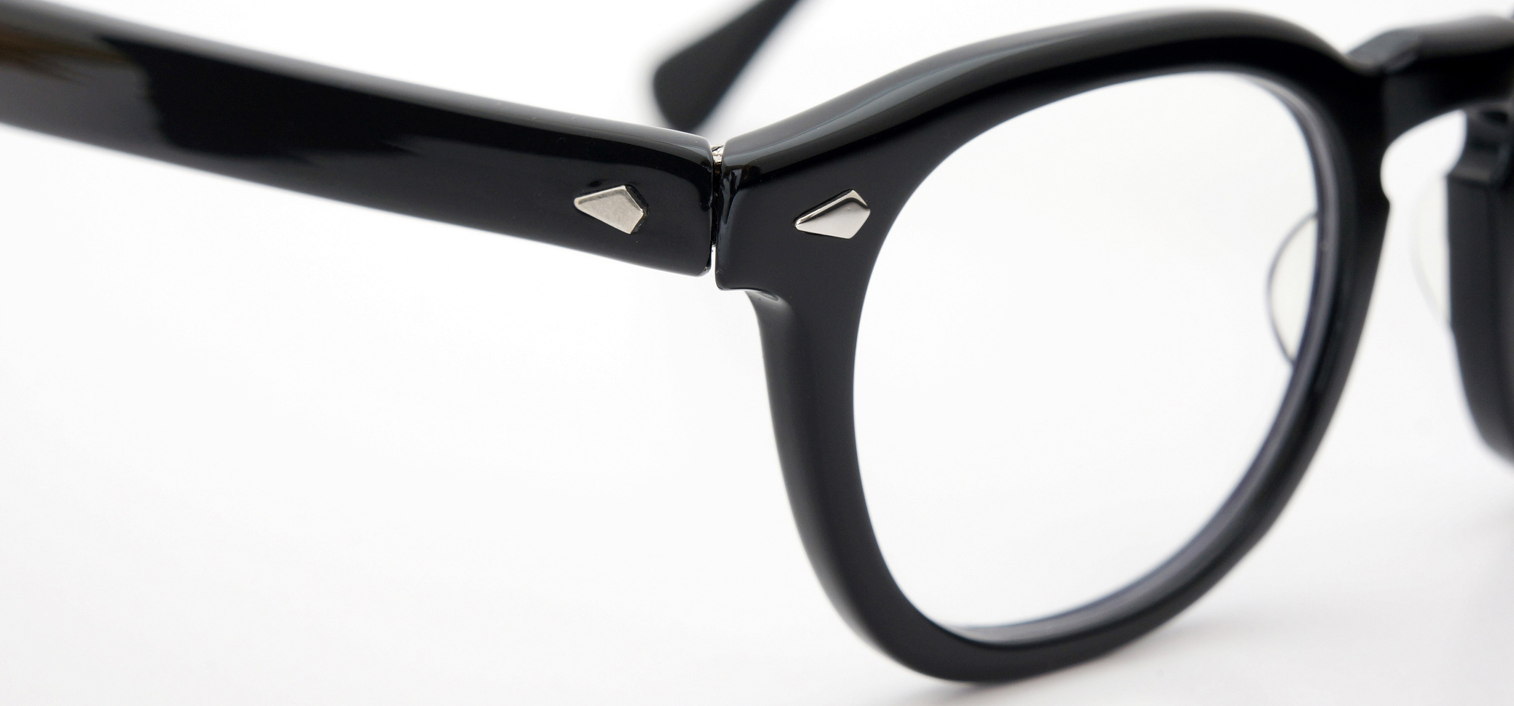 The Spectacle メガネ 1950s-70s TART OPTICAL ARNEL(FRAME USA) BLACK 48-22 イメージ6