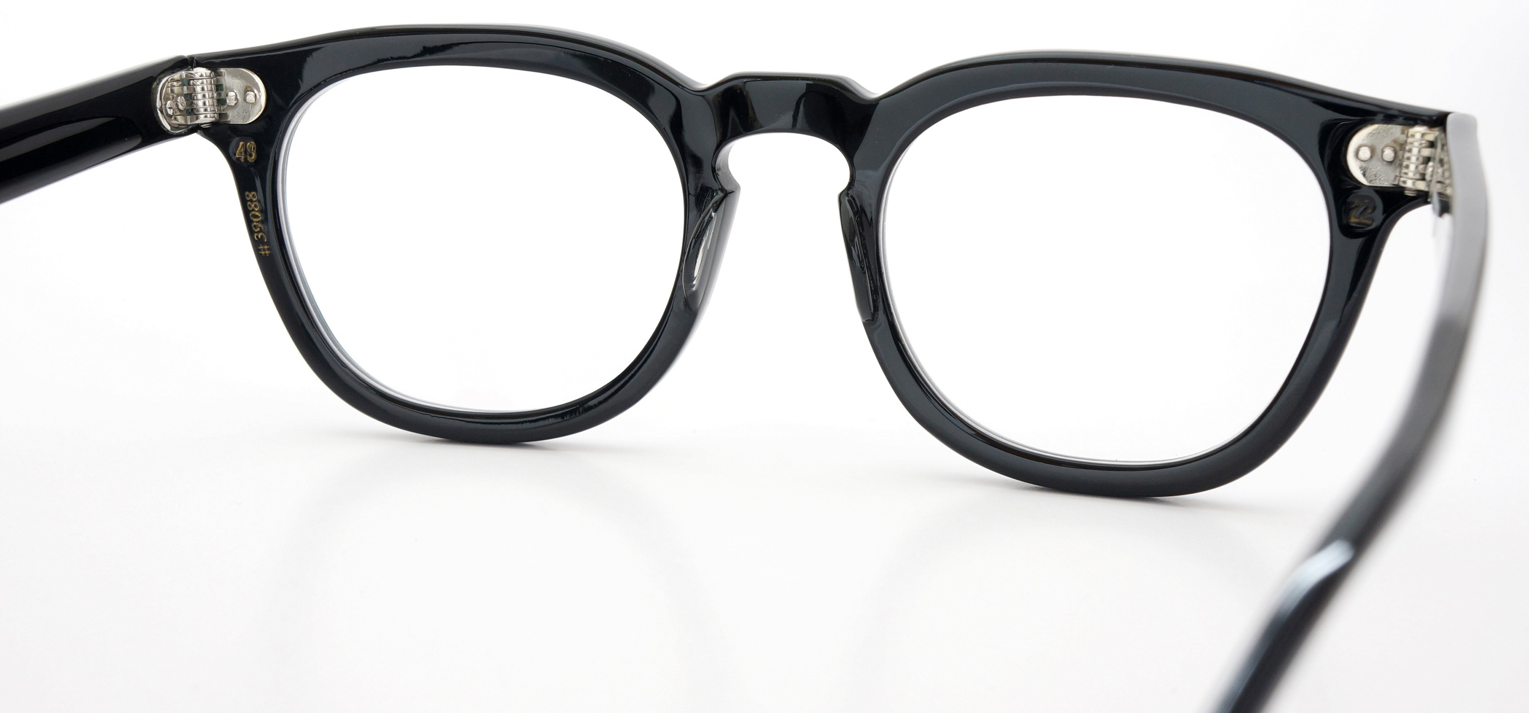 The Spectacle メガネ 1950s-70s TART OPTICAL ARNEL(FRAME USA) BLACK 48-22 イメージ8