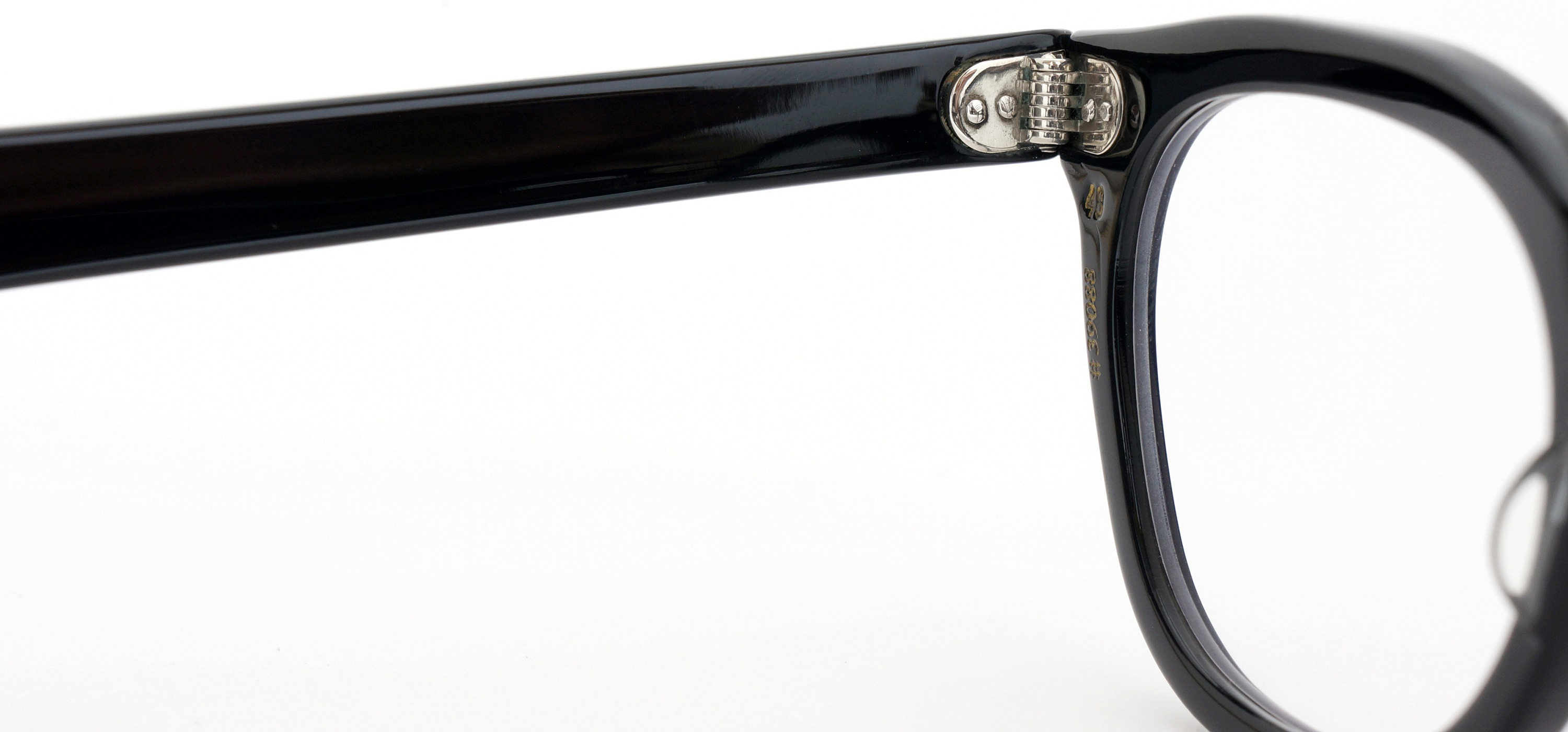 The Spectacle メガネ 1950s-70s TART OPTICAL ARNEL(FRAME USA) BLACK 48-22 イメージ10