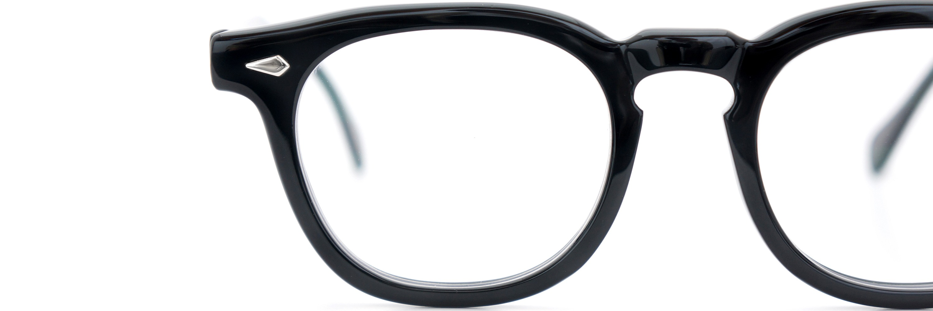 The Spectacle メガネ 1950s-70s TART OPTICAL ARNEL(FRAME USA) BLACK 48-22 イメージ