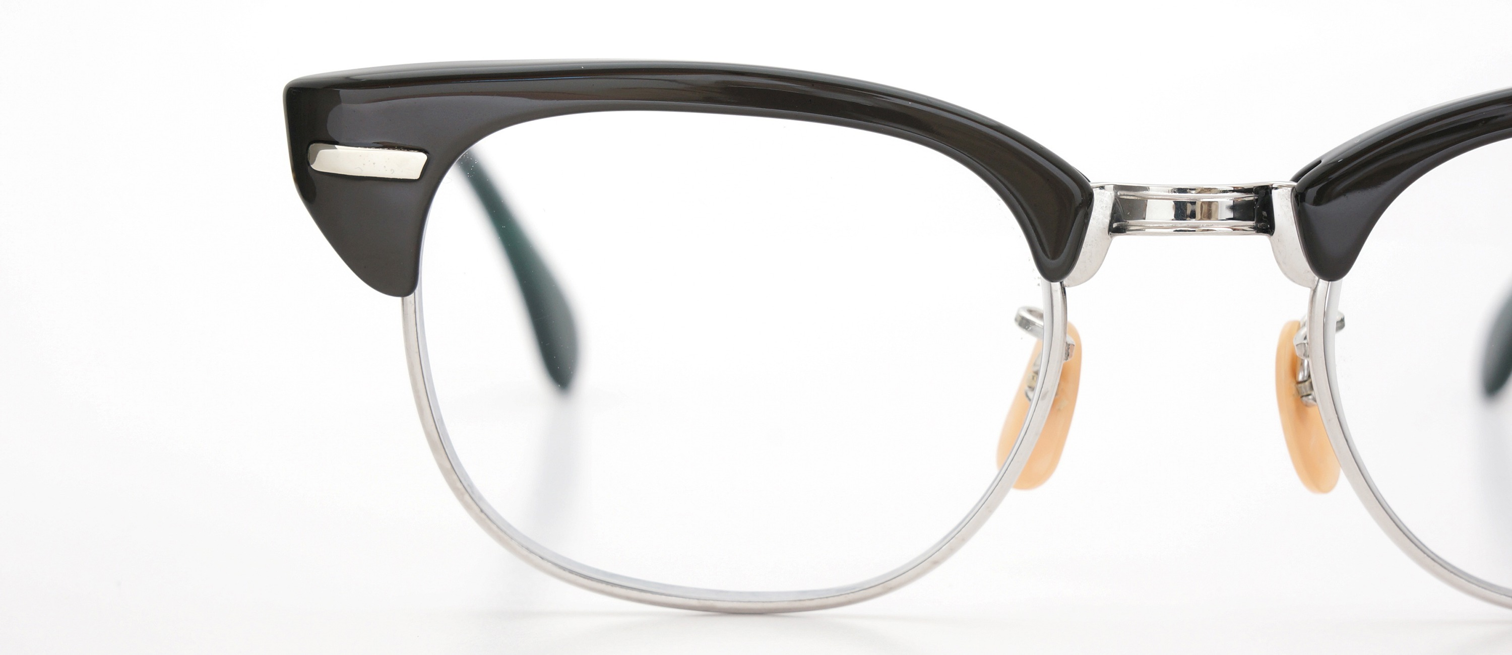 The Spectacle メガネ 1950s-60s Universal Combination UOC-600E Grey-Stripe WG 48-20 イメージ17