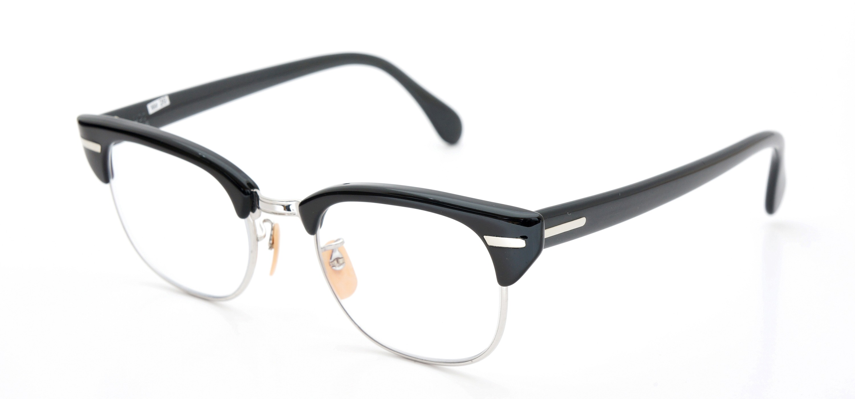 The Spectacle メガネ 1950s-60s Universal Combination UOC-600E Grey-Stripe WG 48-20 イメージ3