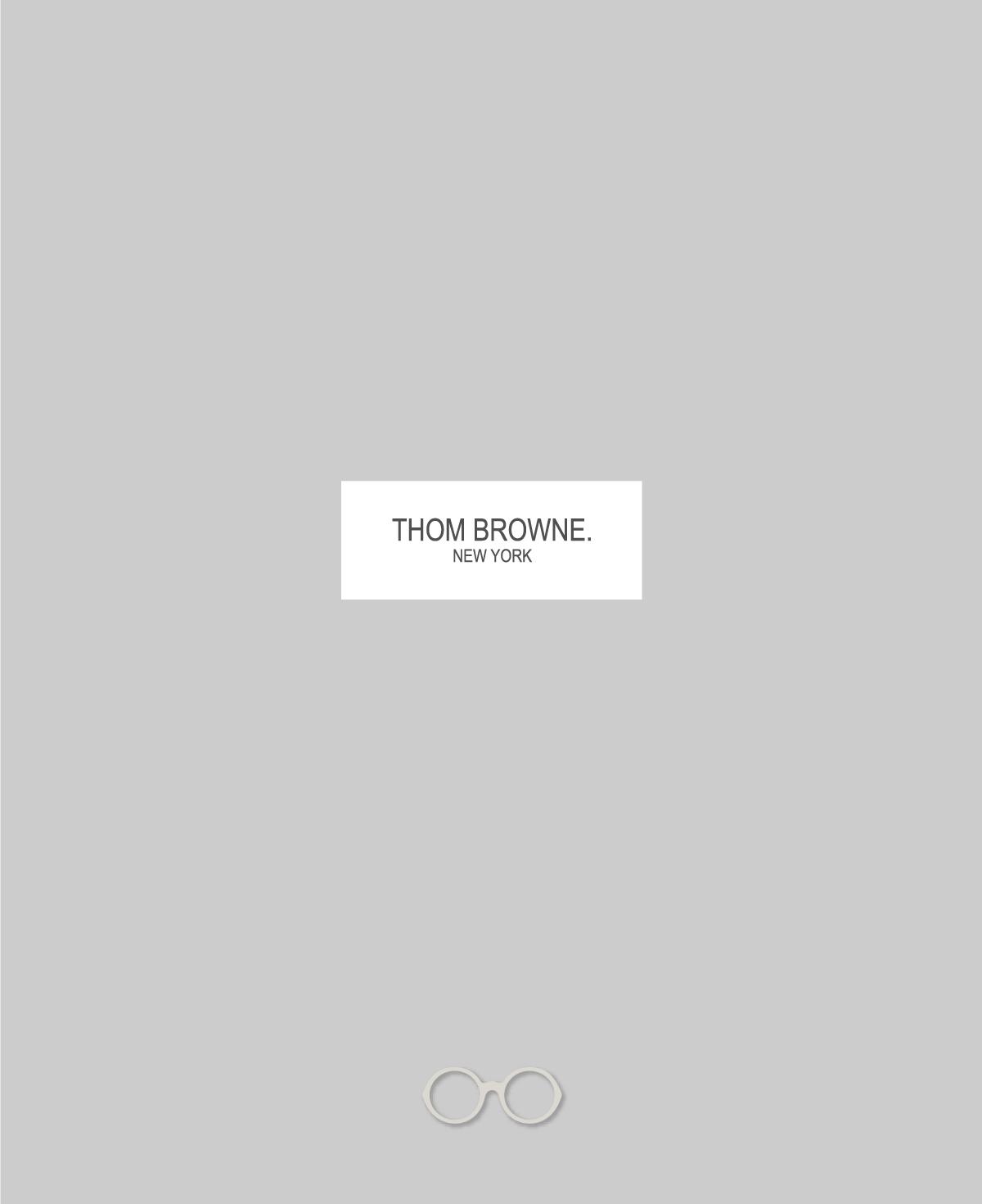 THOM BROWNE. 幻のルックブック