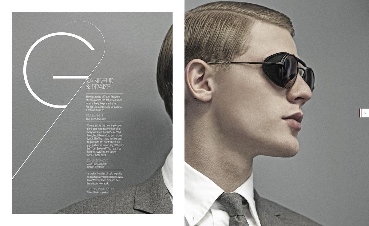 THOM BROWNE eyewear 2011 lookbook 04 ponmegane