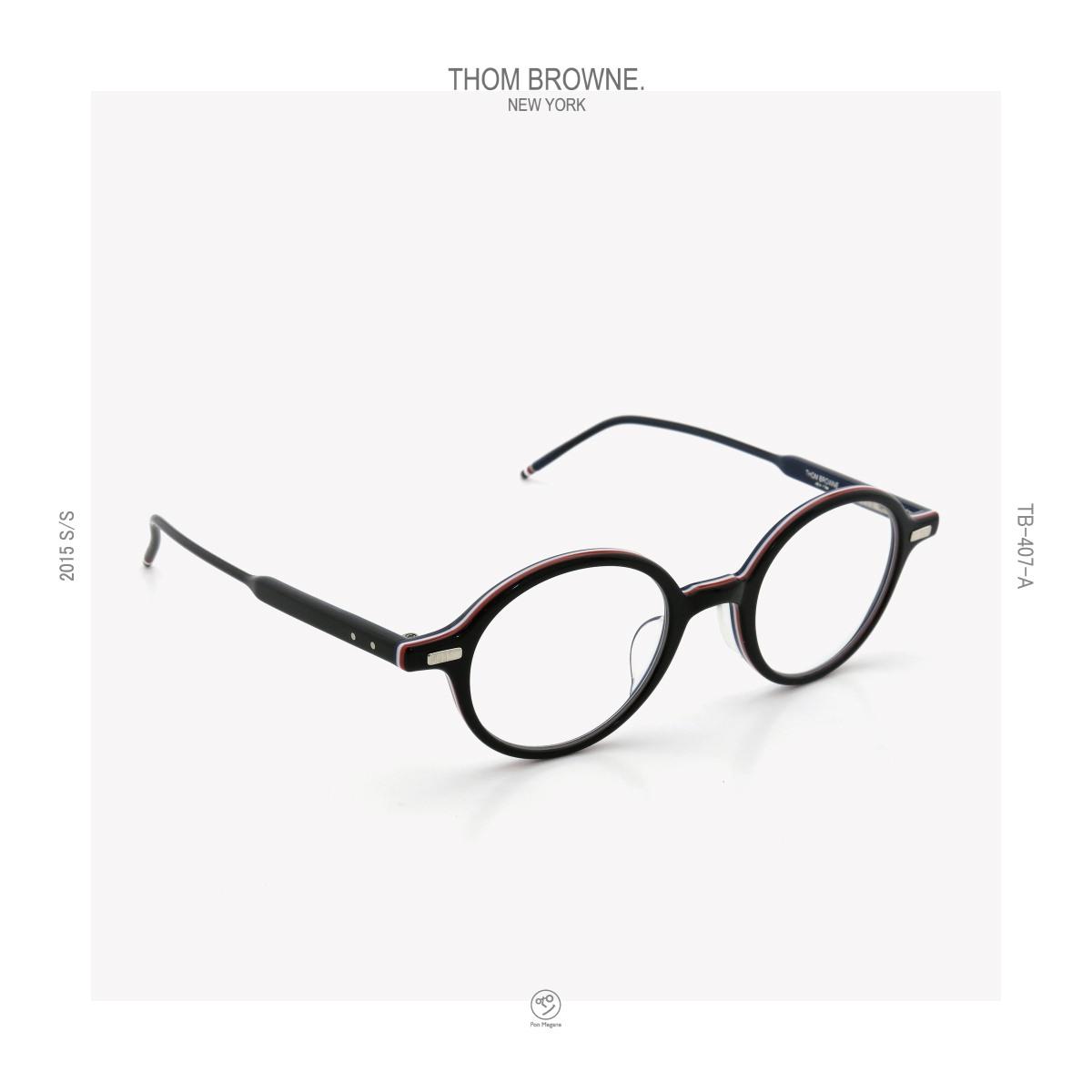 THOM-BROWNE 2015s/s TB-407 A BLK-RWB_46siz