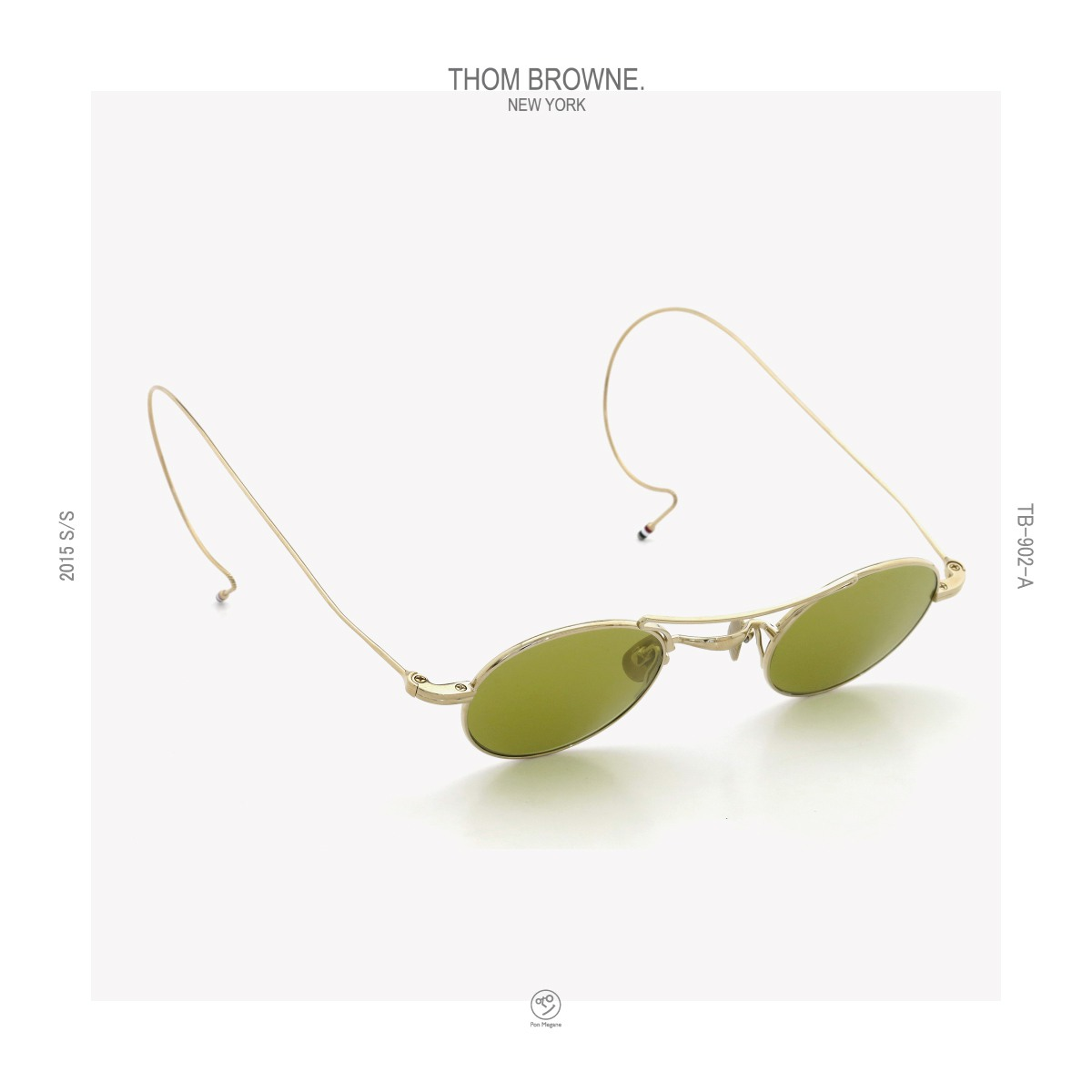 HOM-BROWNE_2015ss_TB-902-A-GLD_40size