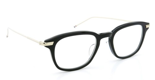 THOM BROWNE. トムブラウン メガネ TB-704 A BLK 12kGLD 49size