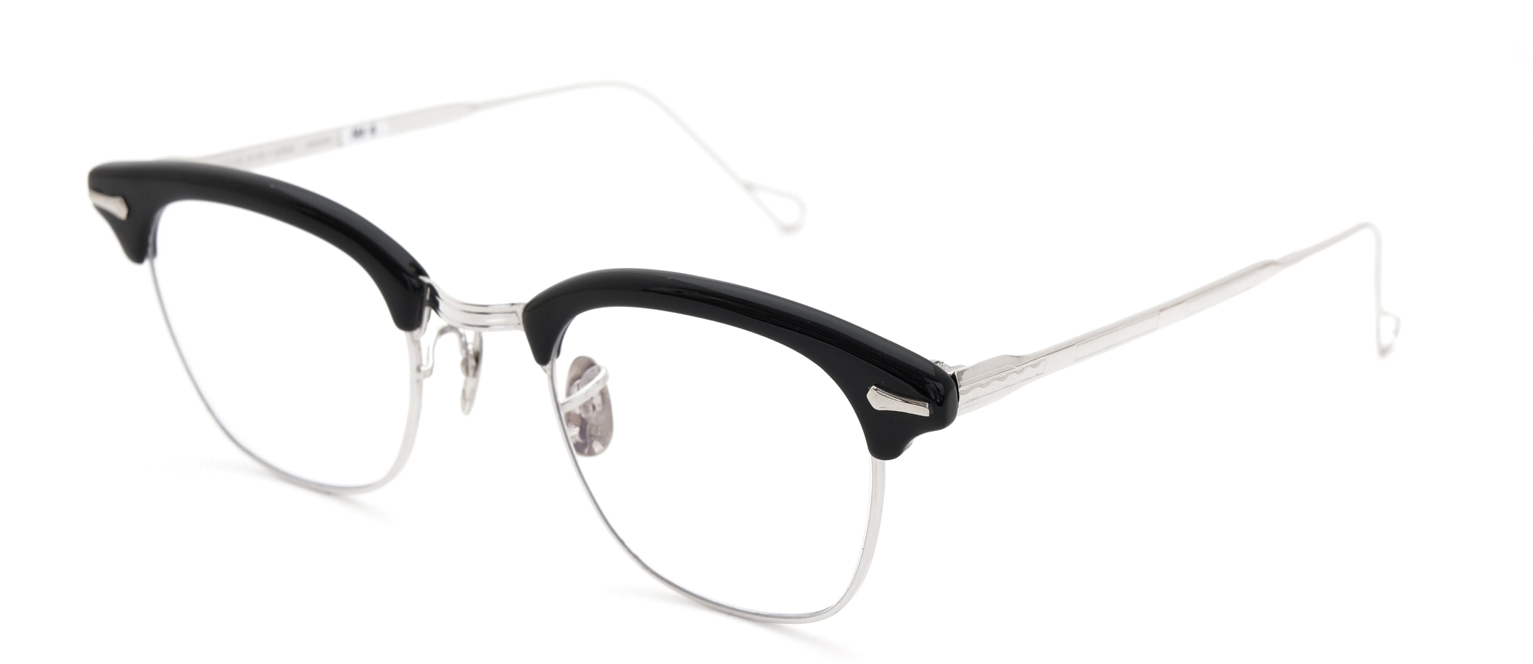 The Spectacle メガネ 1950s-1960s SHURON RONSIR GF-Temple Black WG 1/10 12KGF 46/22 イメージ3
