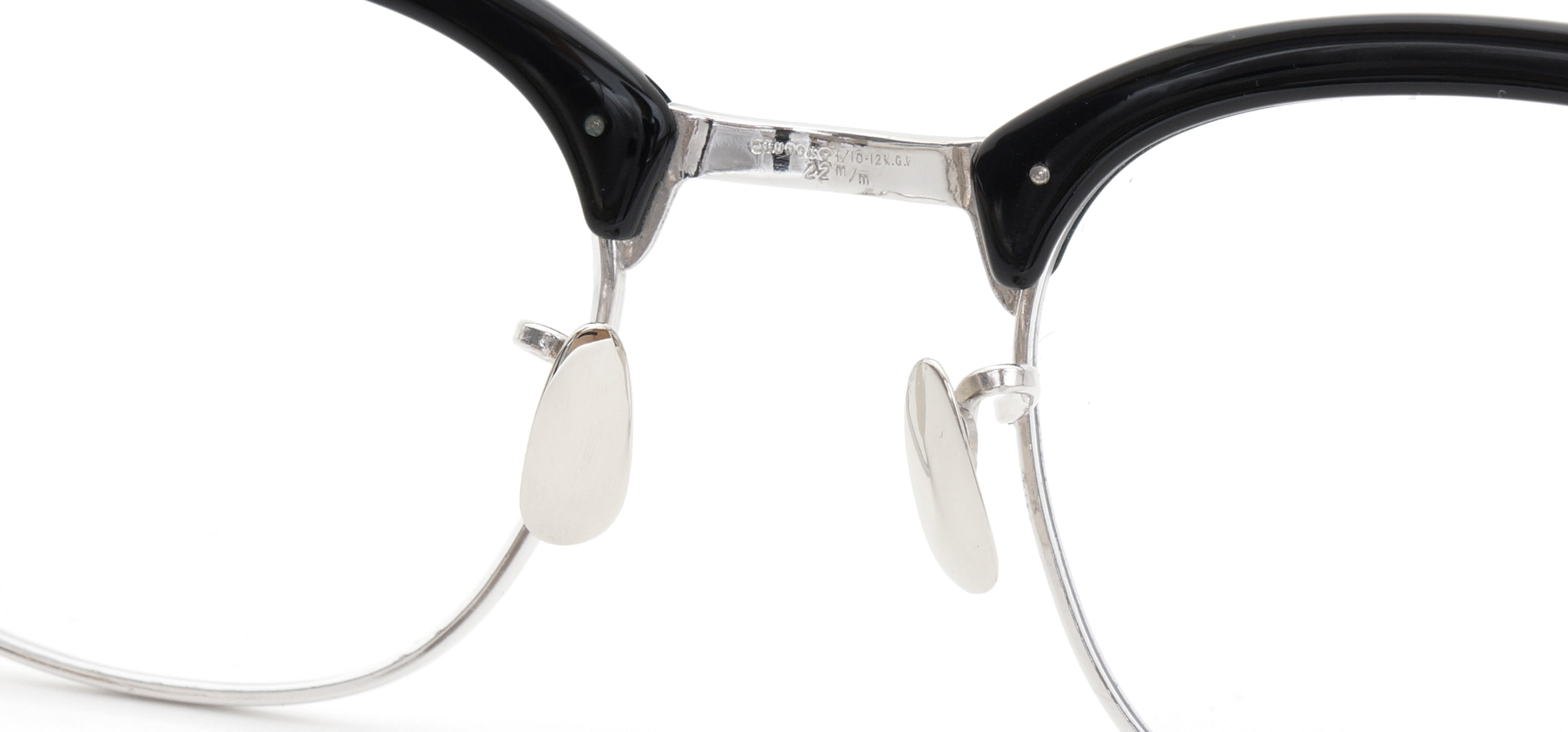 The Spectacle メガネ 1950s-1960s SHURON RONSIR GF-Temple Black WG 1/10 12KGF 46/22 イメージ15
