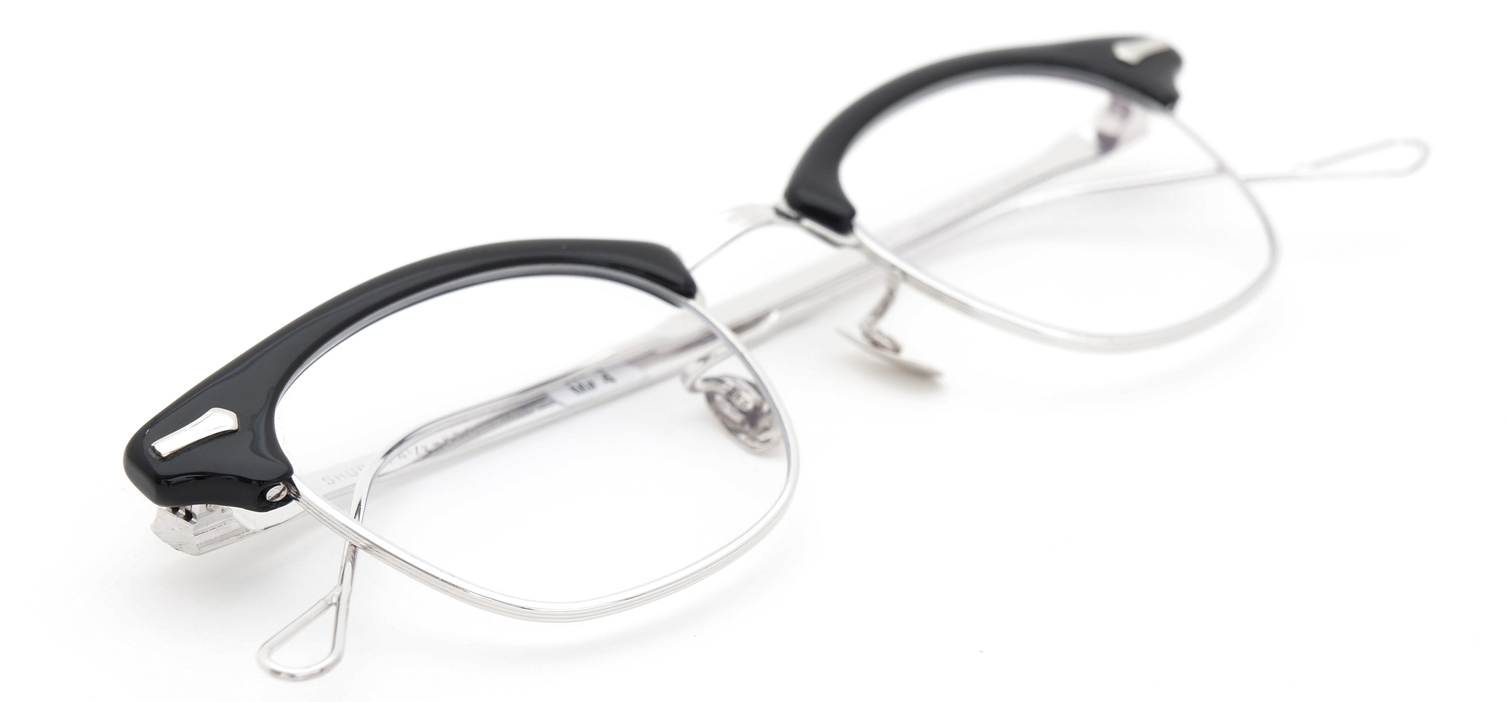The Spectacle メガネ 1950s-1960s SHURON RONSIR GF-Temple Black WG 1/10 12KGF 46/22 イメージ16