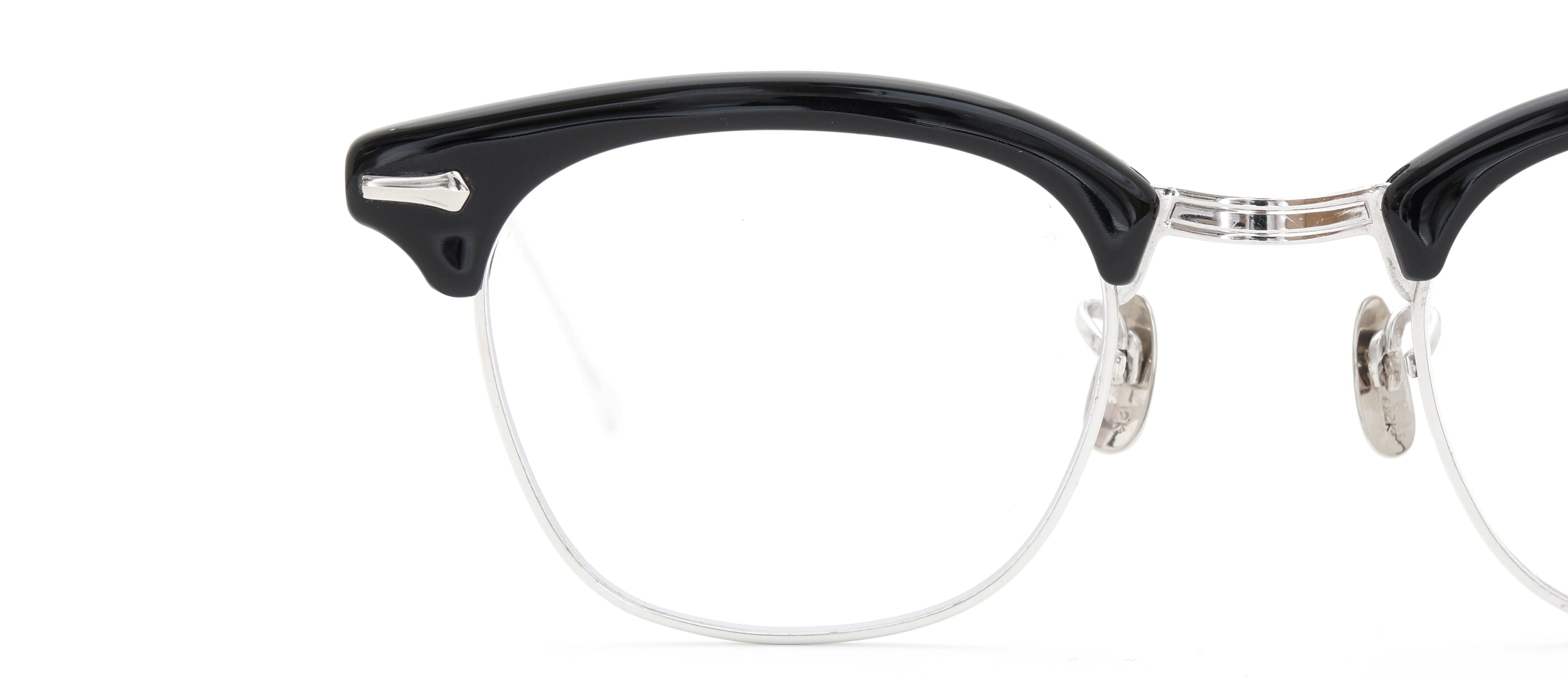 The Spectacle メガネ 1950s-1960s SHURON RONSIR GF-Temple Black WG 1/10 12KGF 46/22 イメージ18