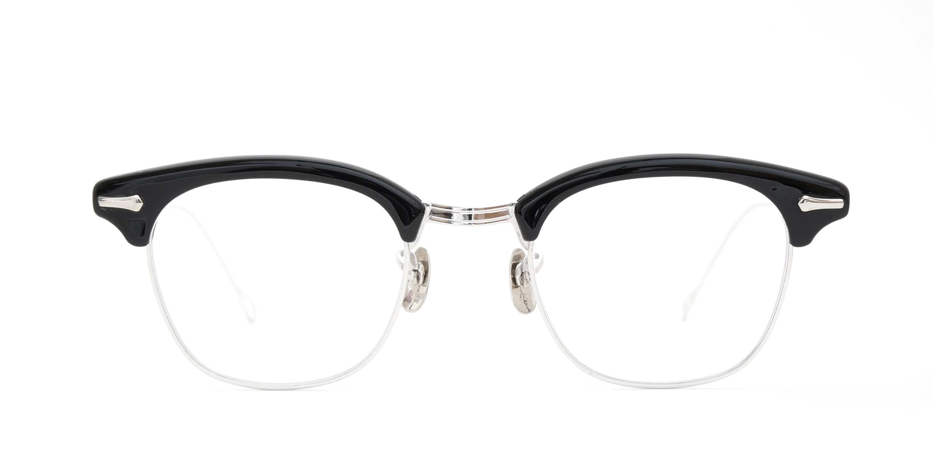 The Spectacle メガネ 1950s-1960s SHURON RONSIR GF-Temple Black WG 1/10 12KGF 46/22 イメージ2