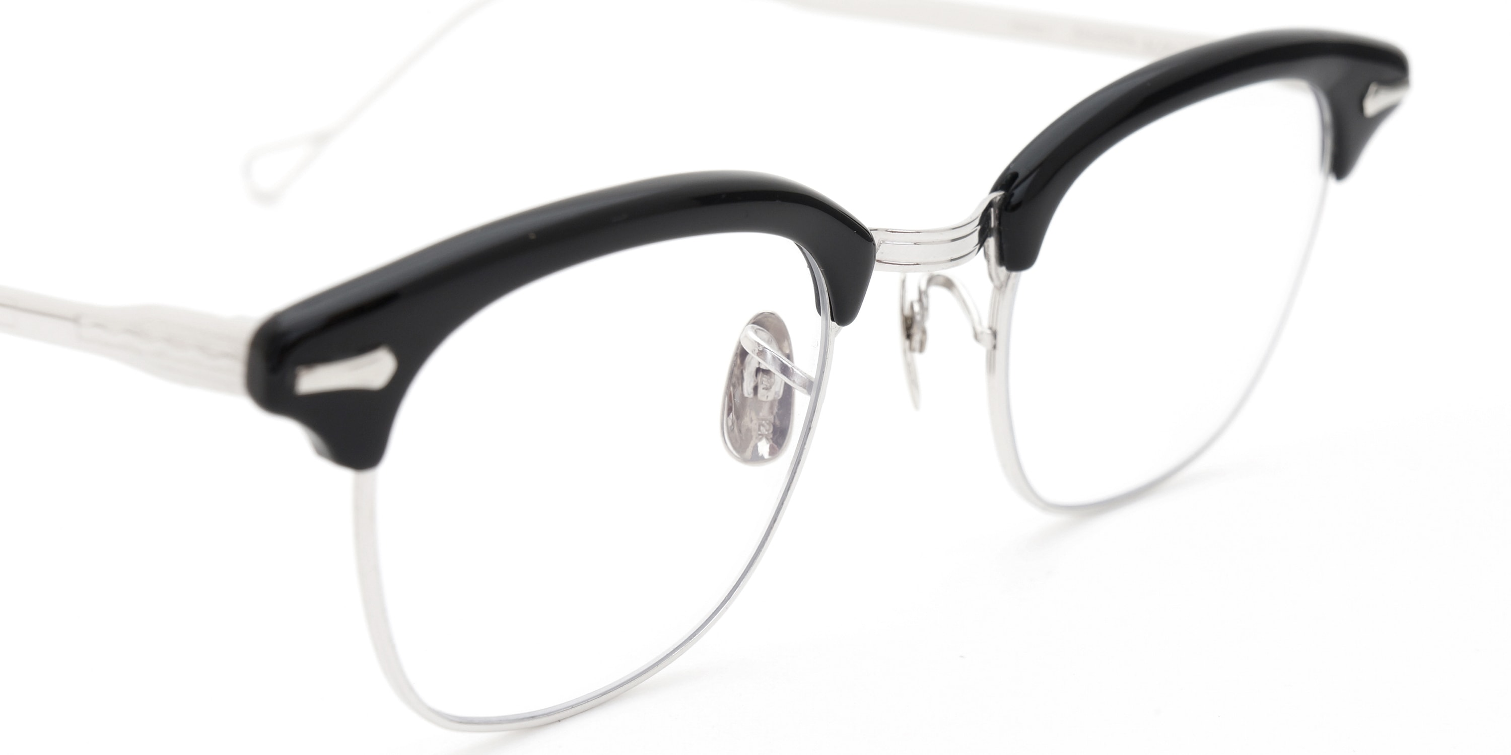 The Spectacle メガネ 1950s-1960s SHURON RONSIR GF-Temple Black WG 1/10 12KGF 46/22 イメージ8