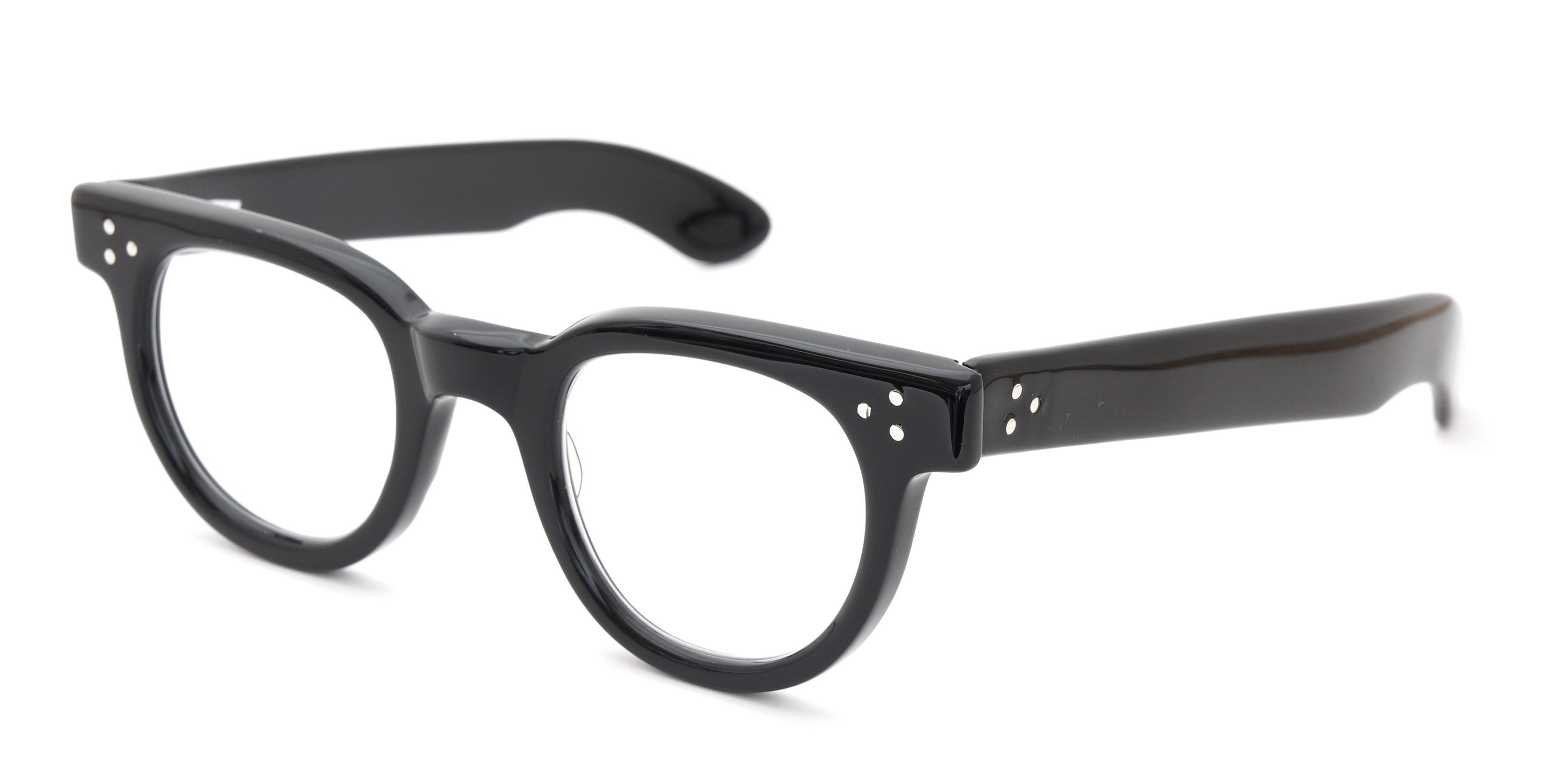 The Spectacle メガネ 1950s-70s TART OPTICAL FDR (FRAME USA) BLACK 44-24 イメージ3