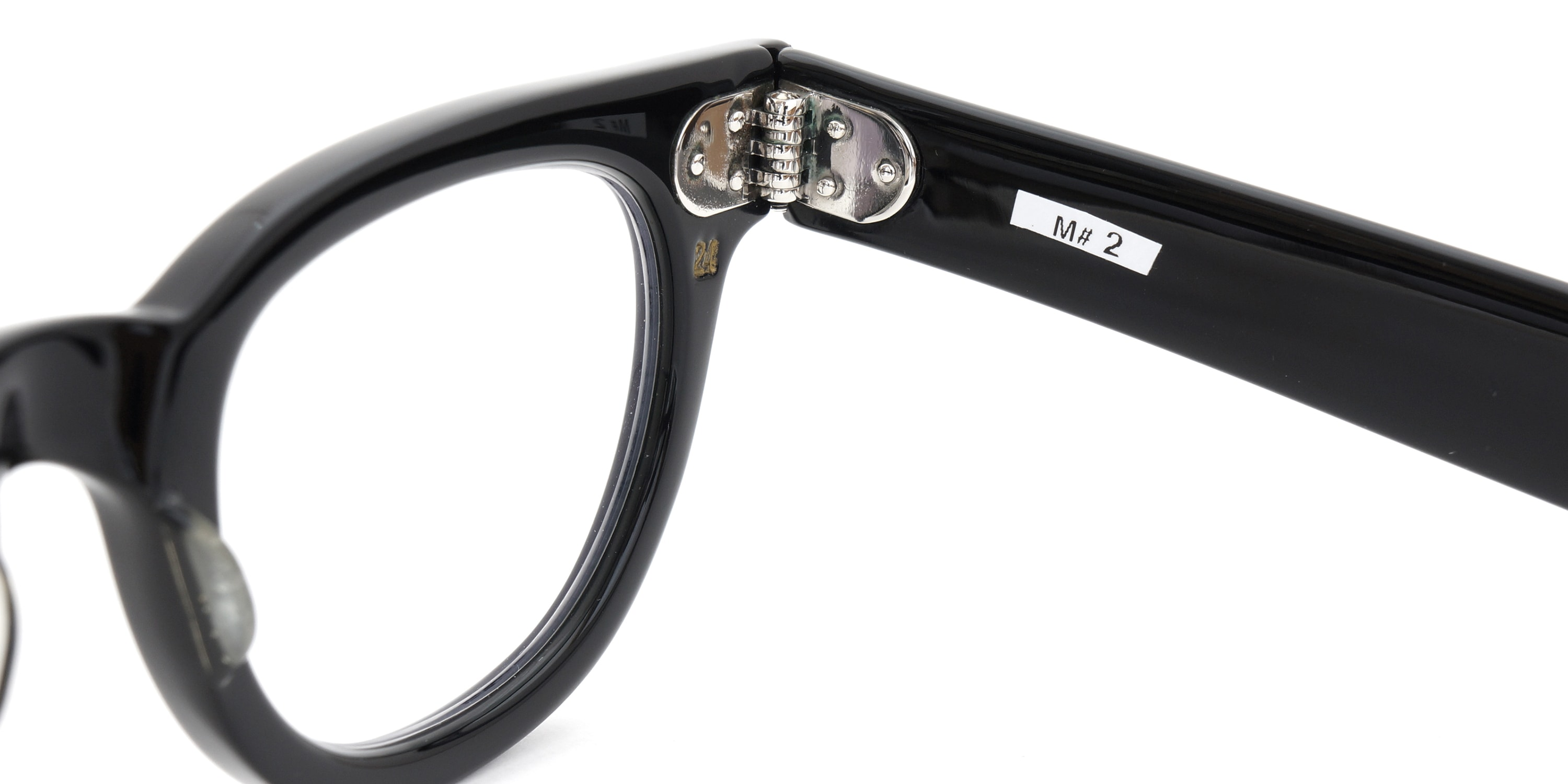 The Spectacle メガネ 1950s-70s TART OPTICAL FDR (FRAME USA) BLACK 44-24 イメージ12