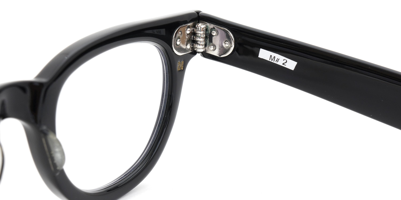 The Spectacle メガネ 1950s-70s TART OPTICAL FDR (FRAME USA) BLACK 44-24 イメージ12