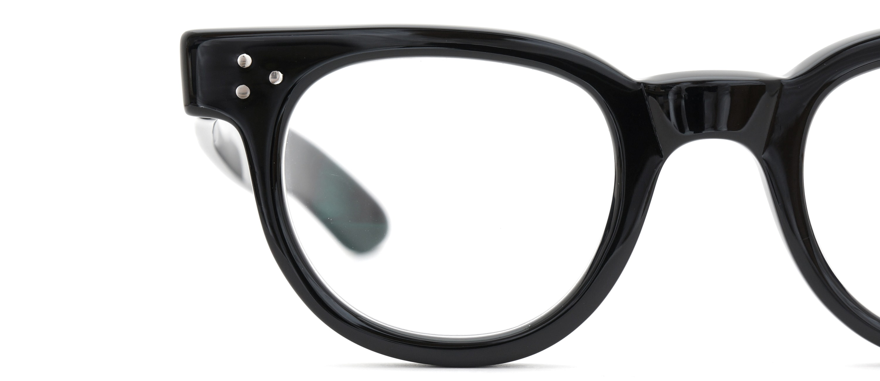 The Spectacle メガネ 1950s-70s TART OPTICAL FDR (FRAME USA) BLACK 44-24 イメージ18