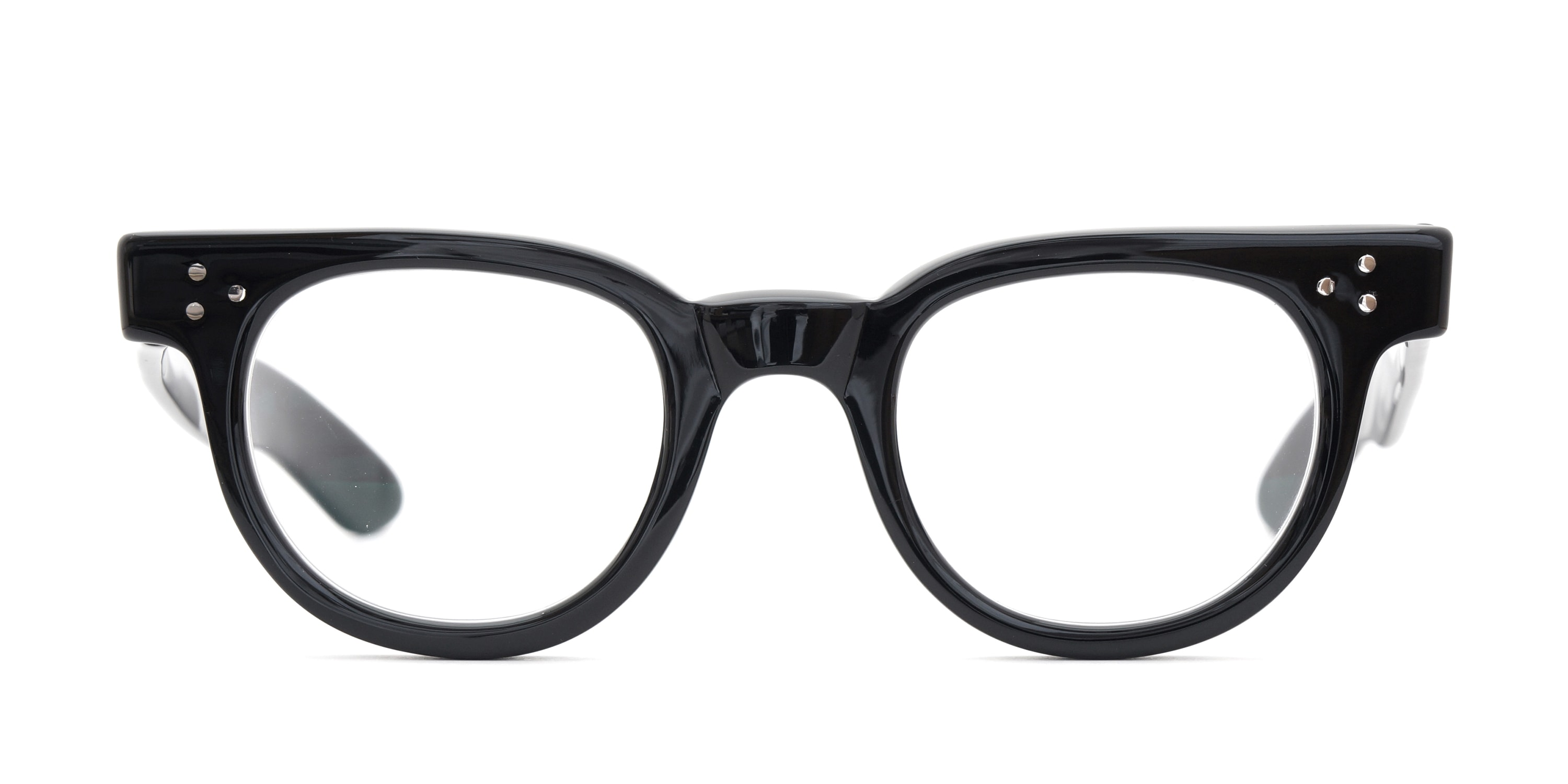 The Spectacle メガネ 1950s-70s TART OPTICAL FDR (FRAME USA) BLACK 44-24 イメージ2
