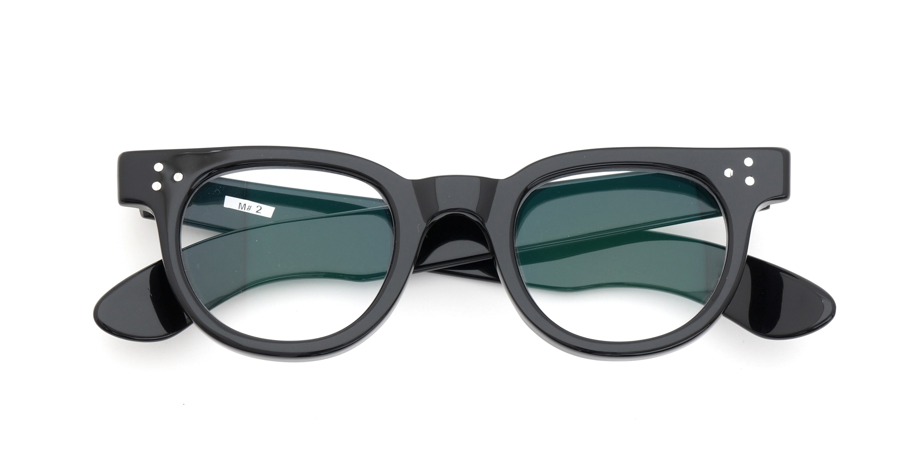 The Spectacle メガネ 1950s-70s TART OPTICAL FDR (FRAME USA) BLACK 44-24 イメージ6