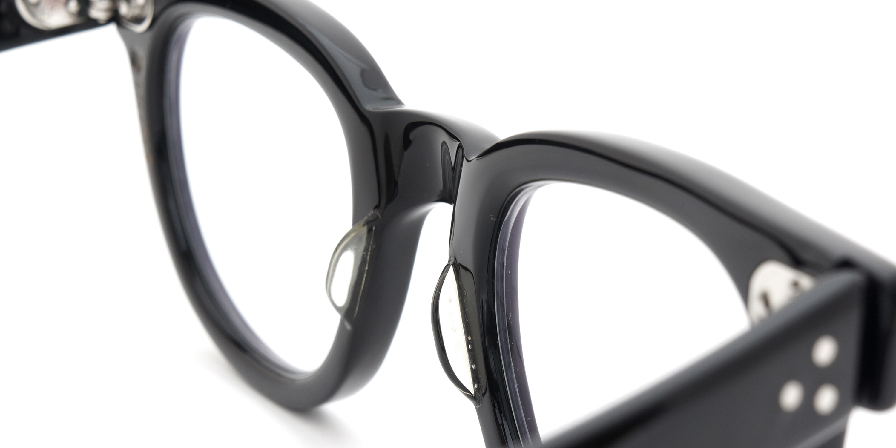 The Spectacle メガネ 1950s-70s TART OPTICAL FDR (FRAME USA) BLACK 44-24 イメージ10