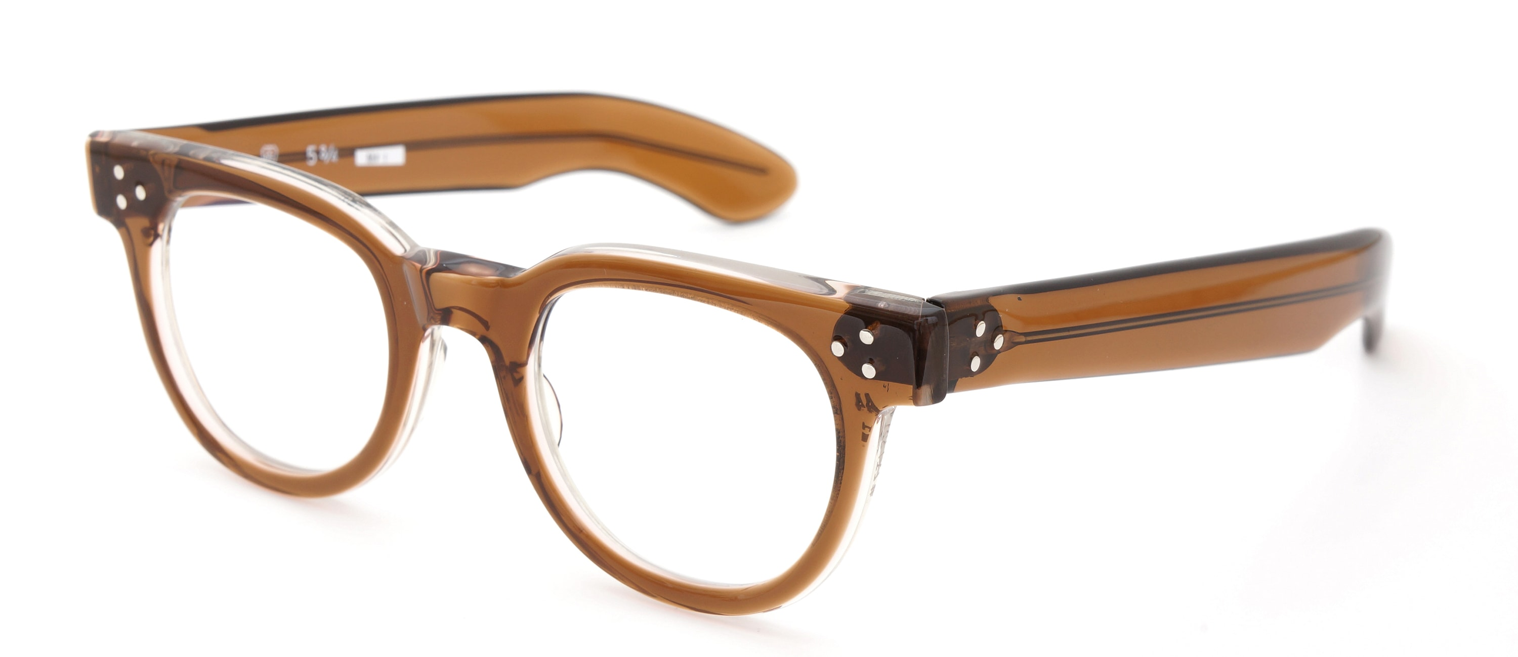 The Spectacle メガネ 1950s-70s TART OPTICAL FDR (FRAME USA) BROWN 44-22 イメージ3