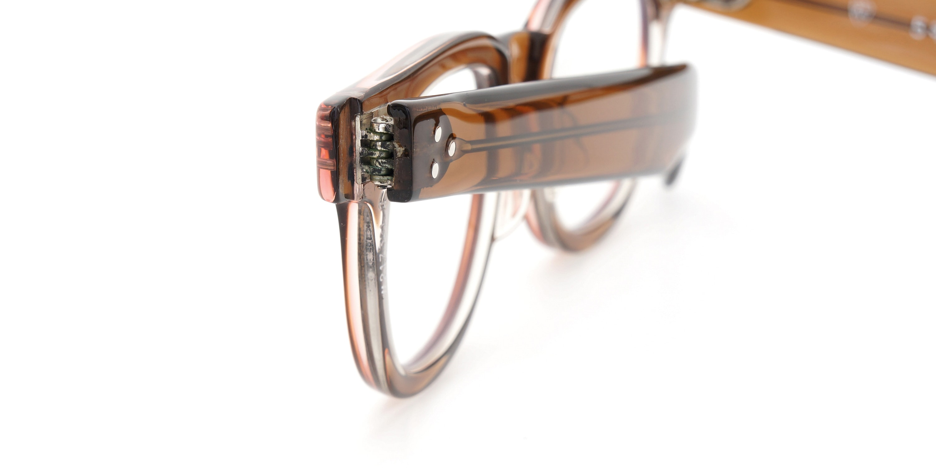 The Spectacle メガネ 1950s-70s TART OPTICAL FDR (FRAME USA) BROWN 44-22 イメージ16