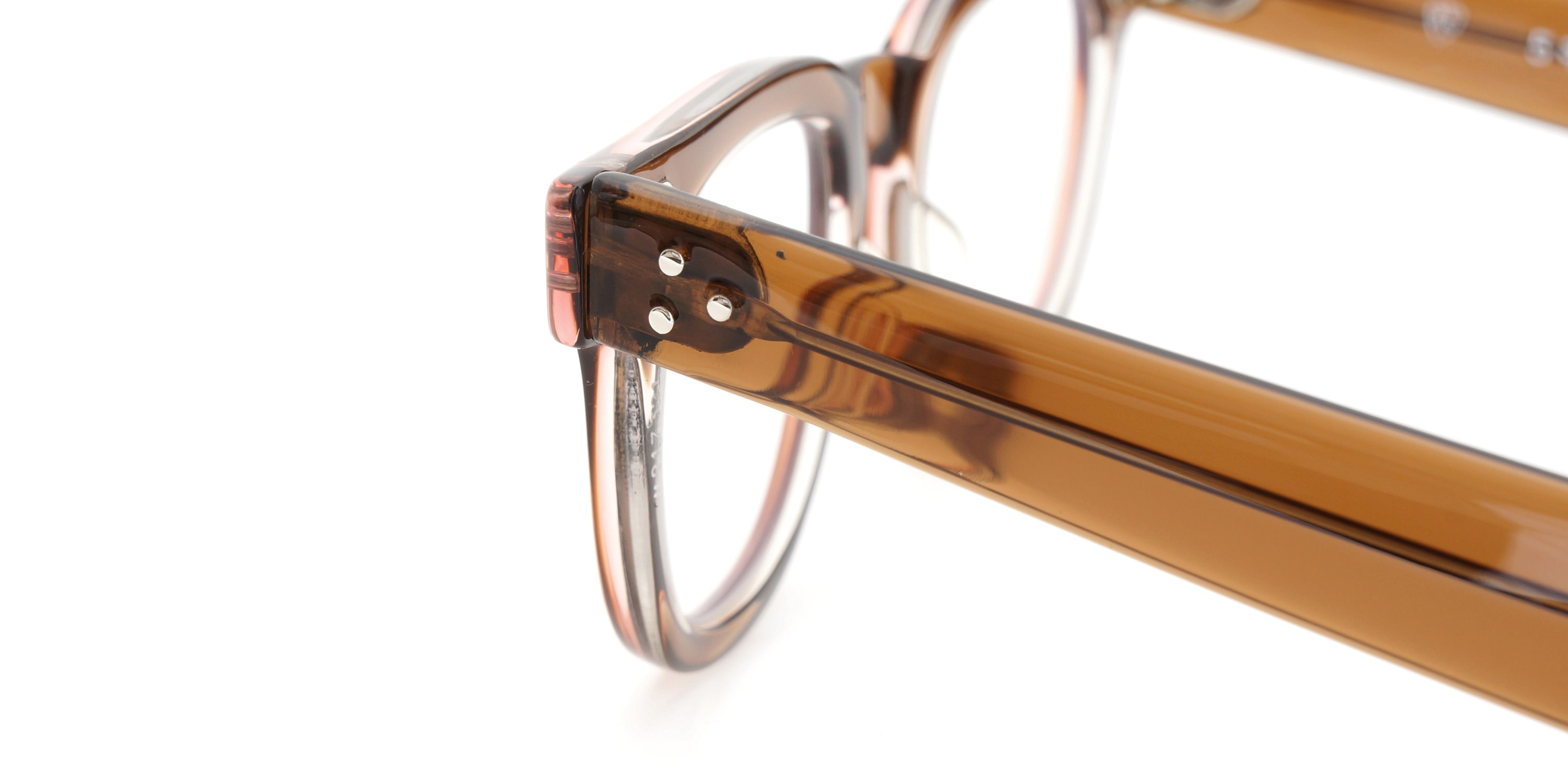 The Spectacle メガネ 1950s-70s TART OPTICAL FDR (FRAME USA) BROWN 44-22 イメージ17