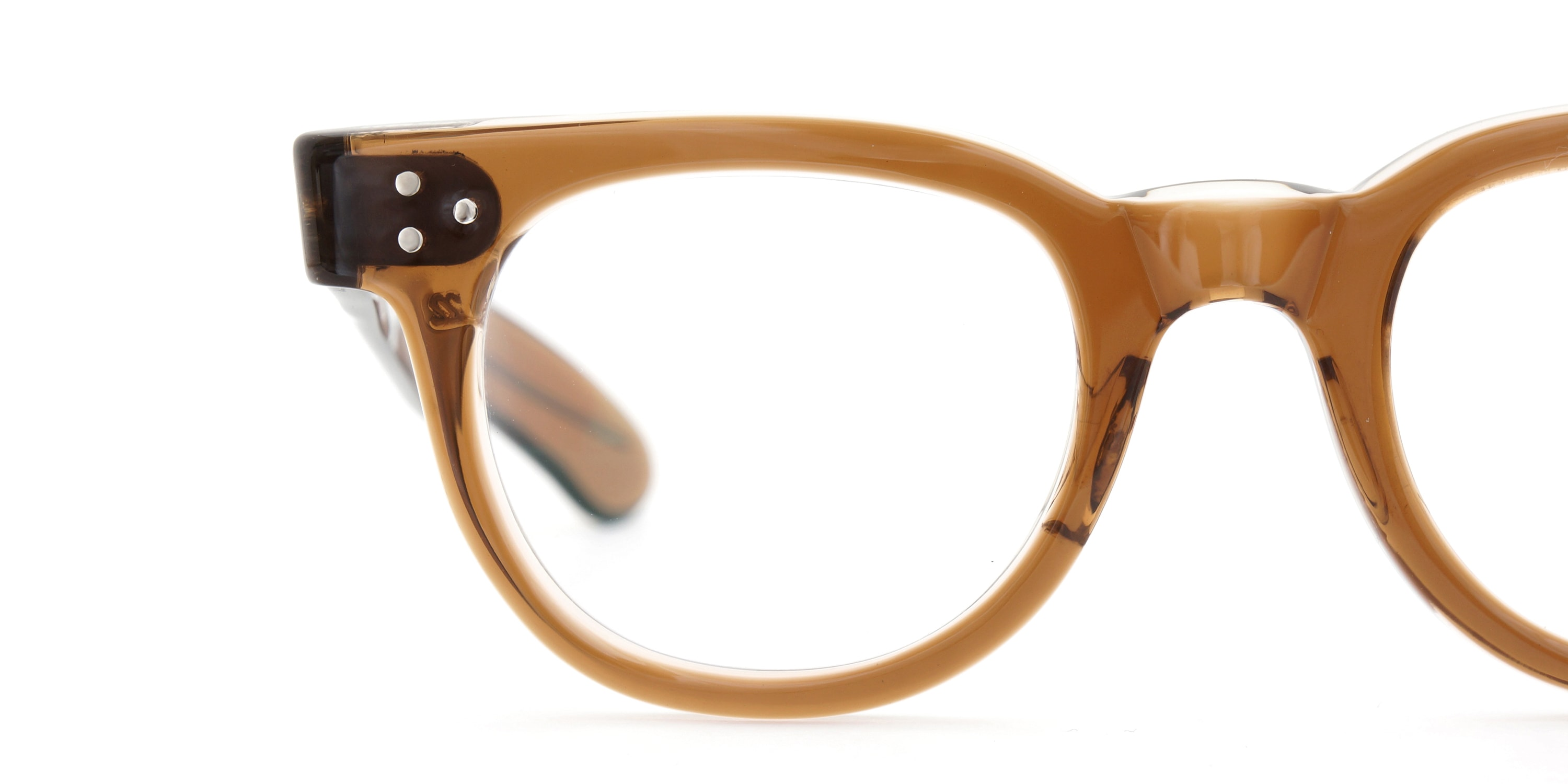 The Spectacle メガネ 1950s-70s TART OPTICAL FDR (FRAME USA) BROWN 44-22 イメージ18