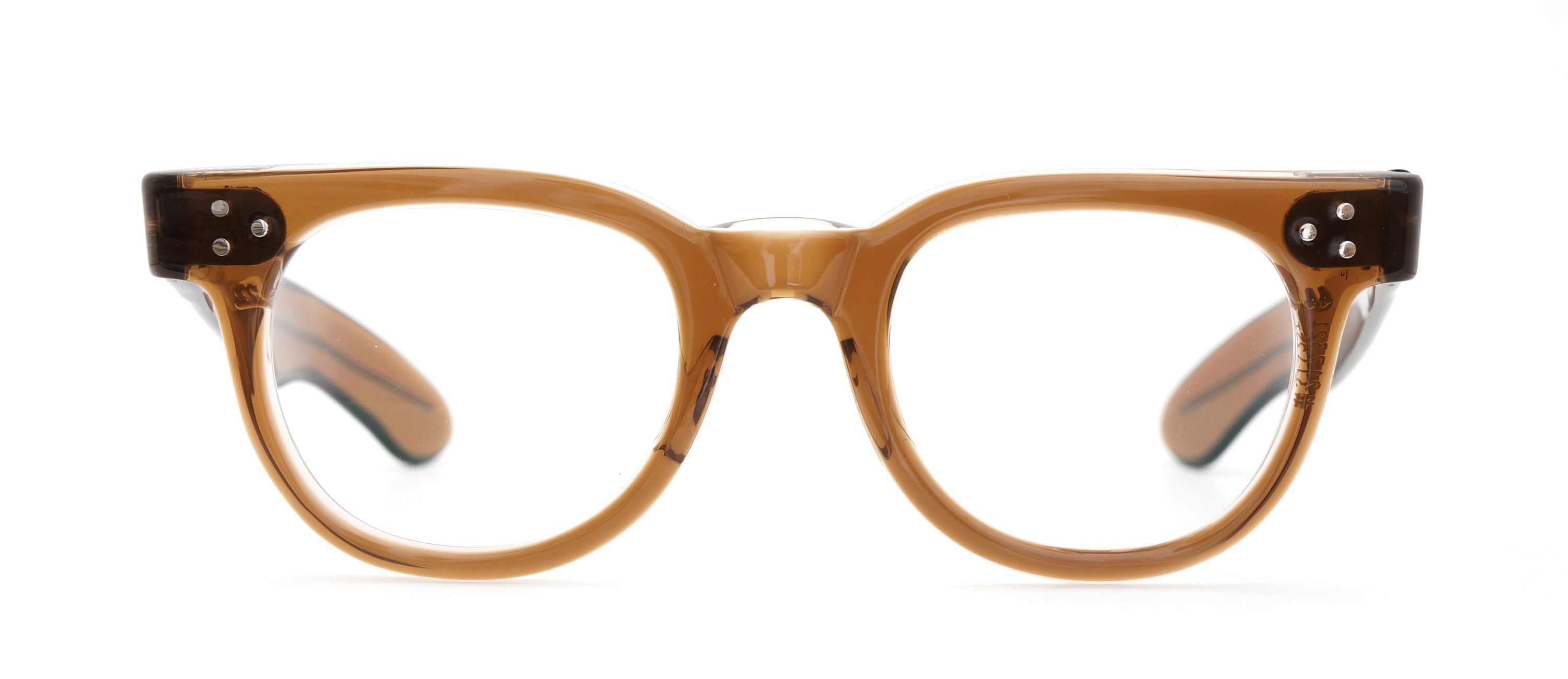 The Spectacle メガネ 1950s-70s TART OPTICAL FDR (FRAME USA) BROWN 44-22 イメージ2