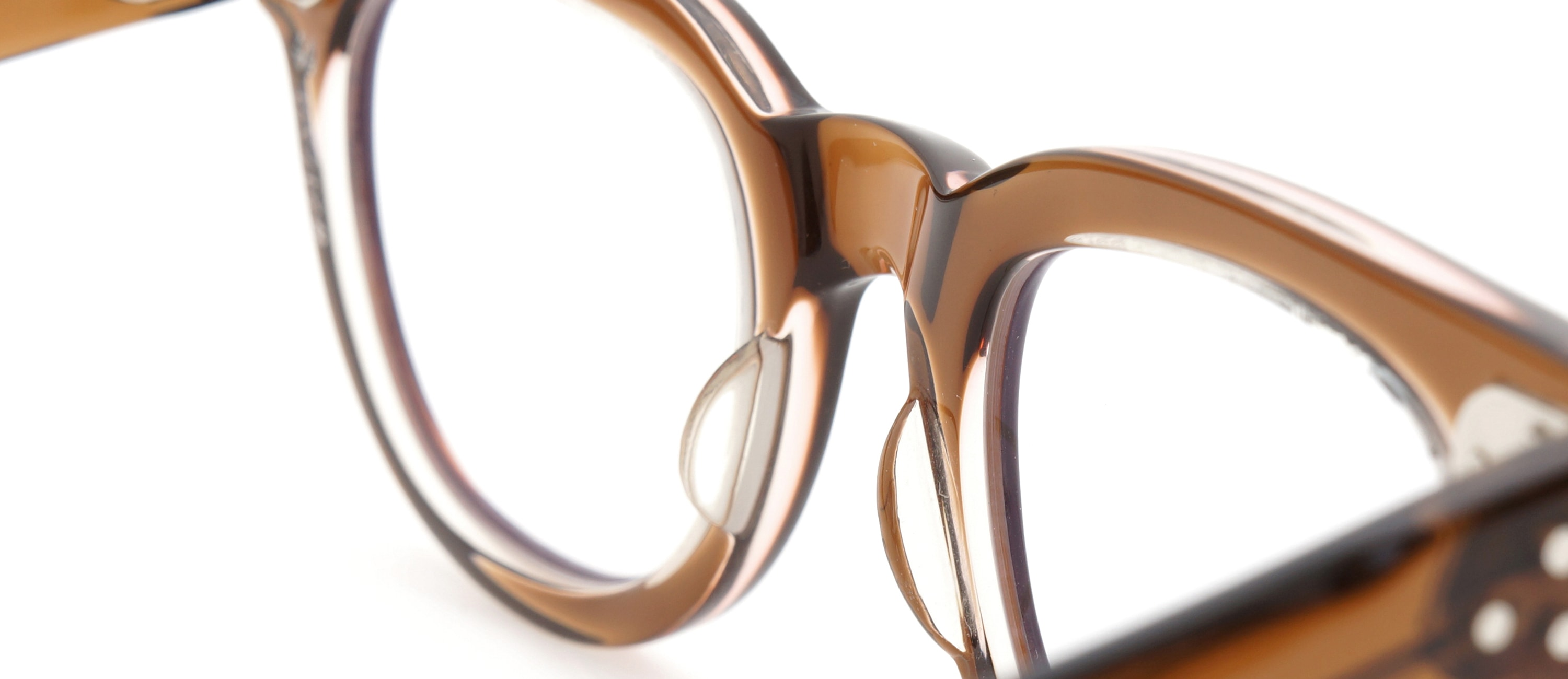 The Spectacle メガネ 1950s-70s TART OPTICAL FDR (FRAME USA) BROWN 44-22 イメージ10