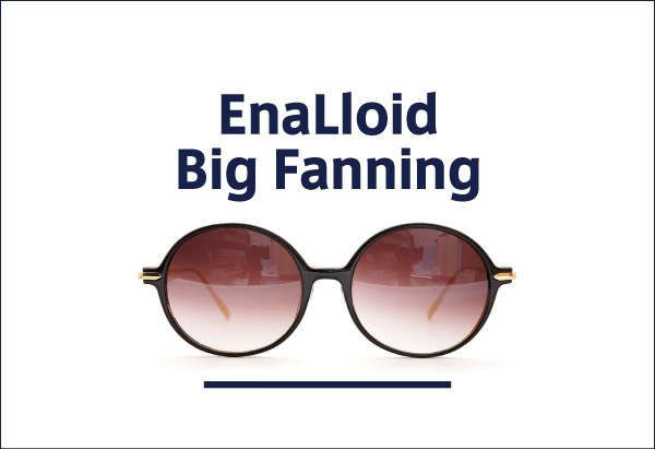 EnaLloid 定番メガネ Big Fanning