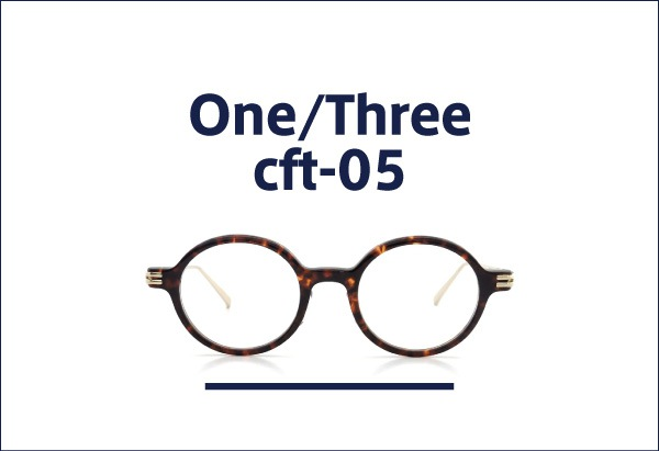 One/Three Compound Frame メガネ cft-05