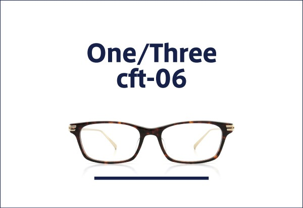 One/Three Compound Frame メガネ cft-06