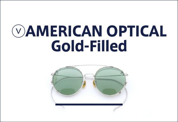 AMERICAN OPTICAL vintage Gold Filled