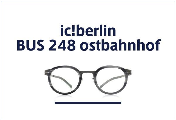 ic!berlin メガネ BUS 248 ostbahnhof