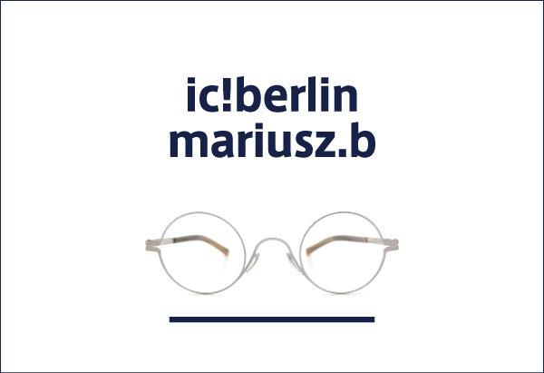 ic!berlin メガネ mariusz.b