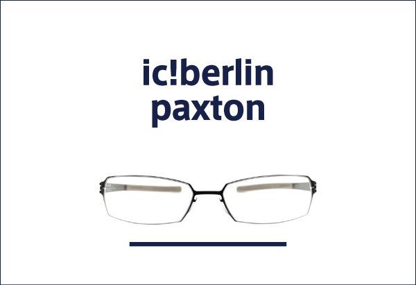 ic!berlin メガネ paxton