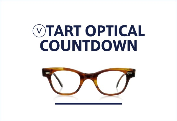 TART OPTICAL COUNTDOWN vintage 定番メガネ