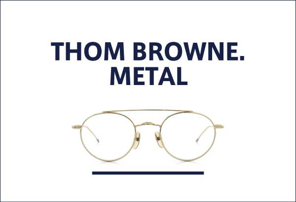 THOM BROWNE. メタルフレーム