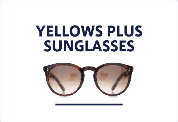 yellows plus サングラス