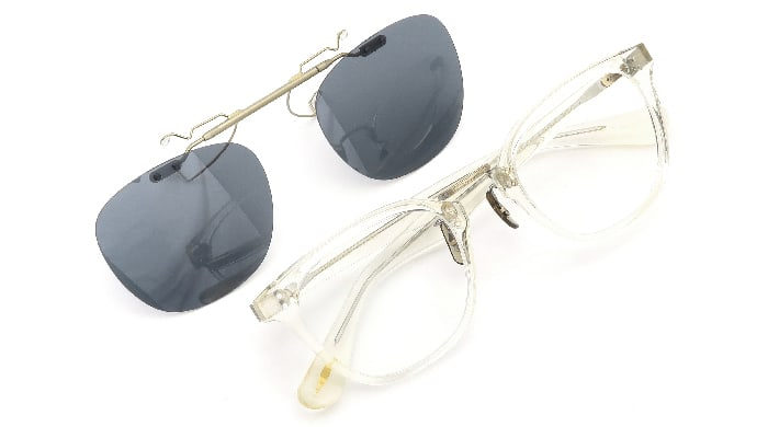 クリップオンサングラス OLIVER PEOPLES Hillerman BECR MG-AG