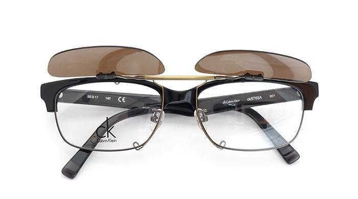 クリップオンサングラス Calvin Klein ck5765A 001 SDB/AGopen