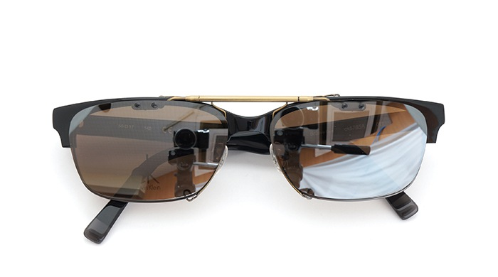 クリップオンサングラス Calvin Klein ck5765A 001 SDB/AGclose