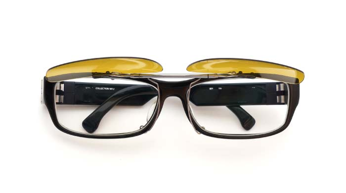 clip MYKITA NO2 Black DY/GM open