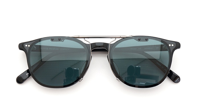 clip OLIVER PEOPLES Alfredson BK close