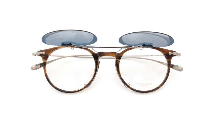 クリップオンサングラス OLIVER PEOPLES Marett VOT DG/GM open