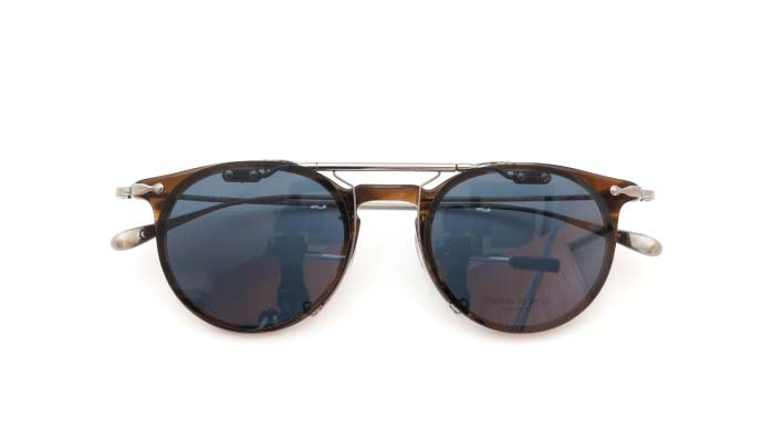 クリップオンサングラス OLIVER PEOPLES Marett VOT DG/GM close
