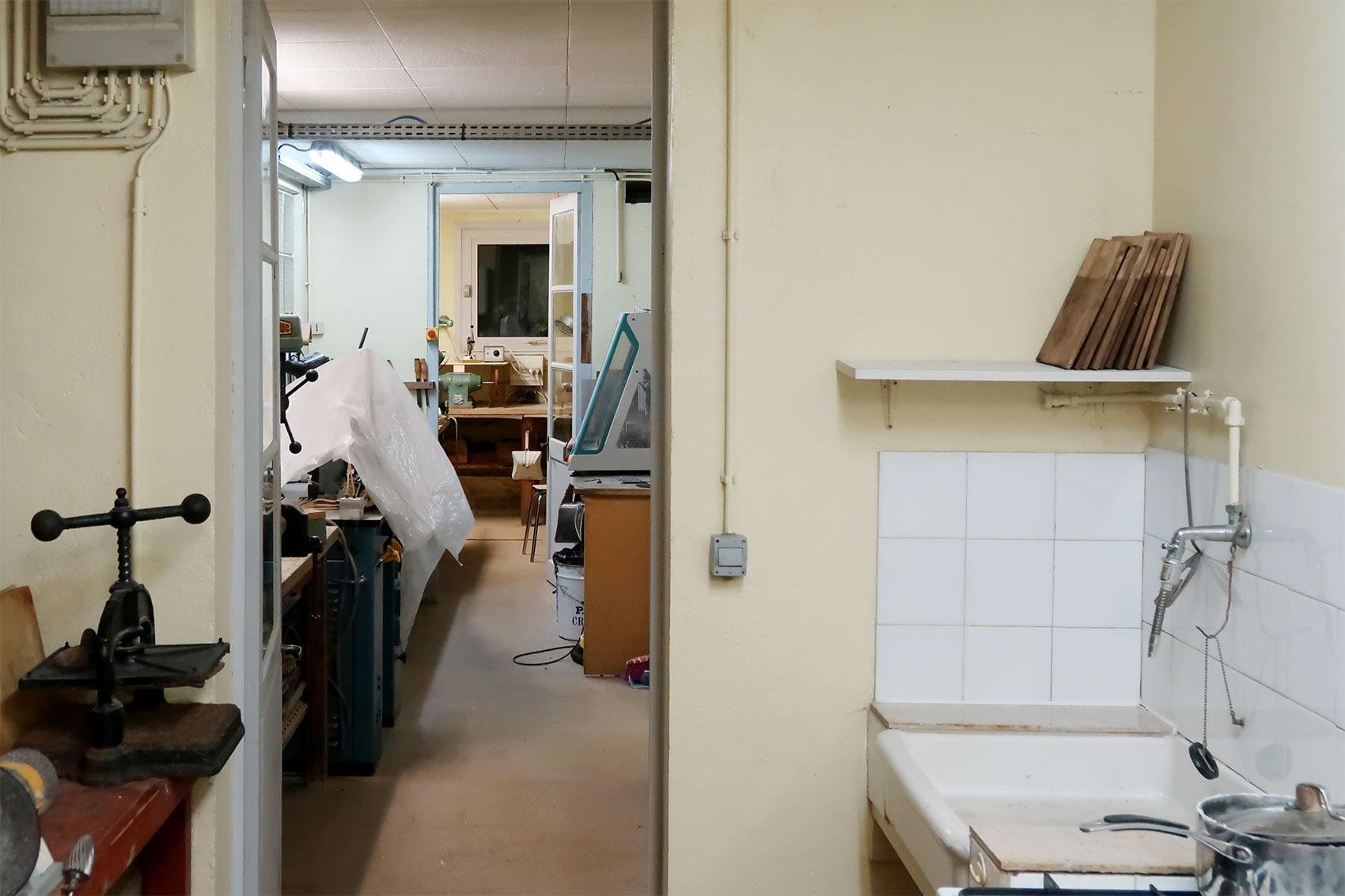 dorillat 工房内部
