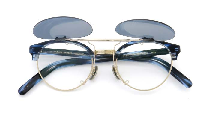 クリップオンサングラス OLIVER PEOPLES OP-15-XL DNM SMG/G open
